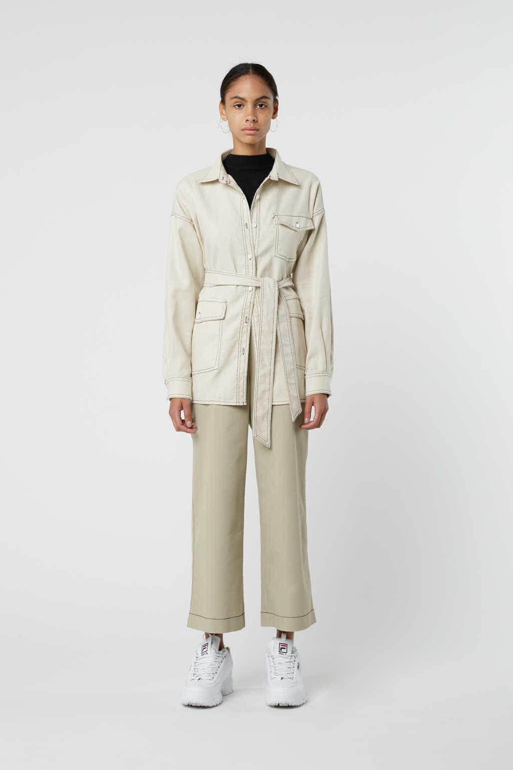 Jacket J001 White 2