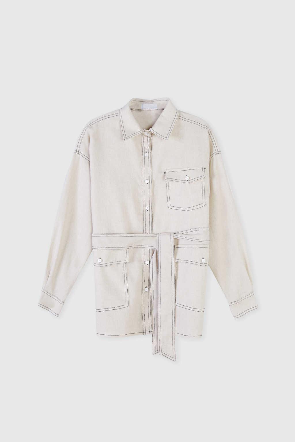 Jacket J001 White 5