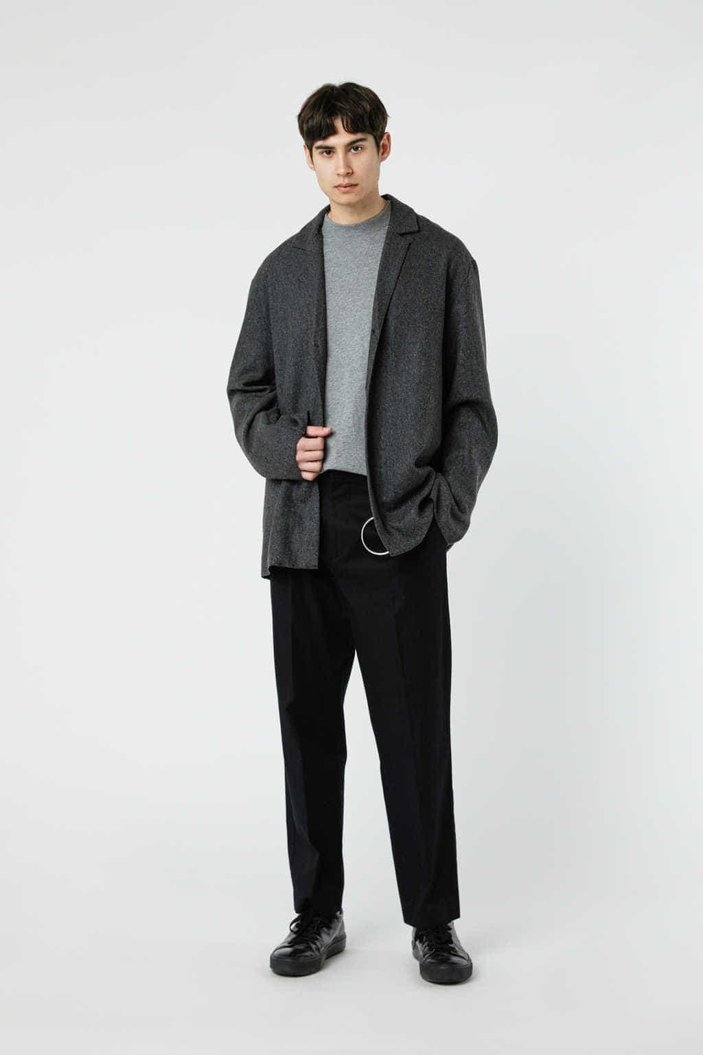 Jacket J002M Gray 3