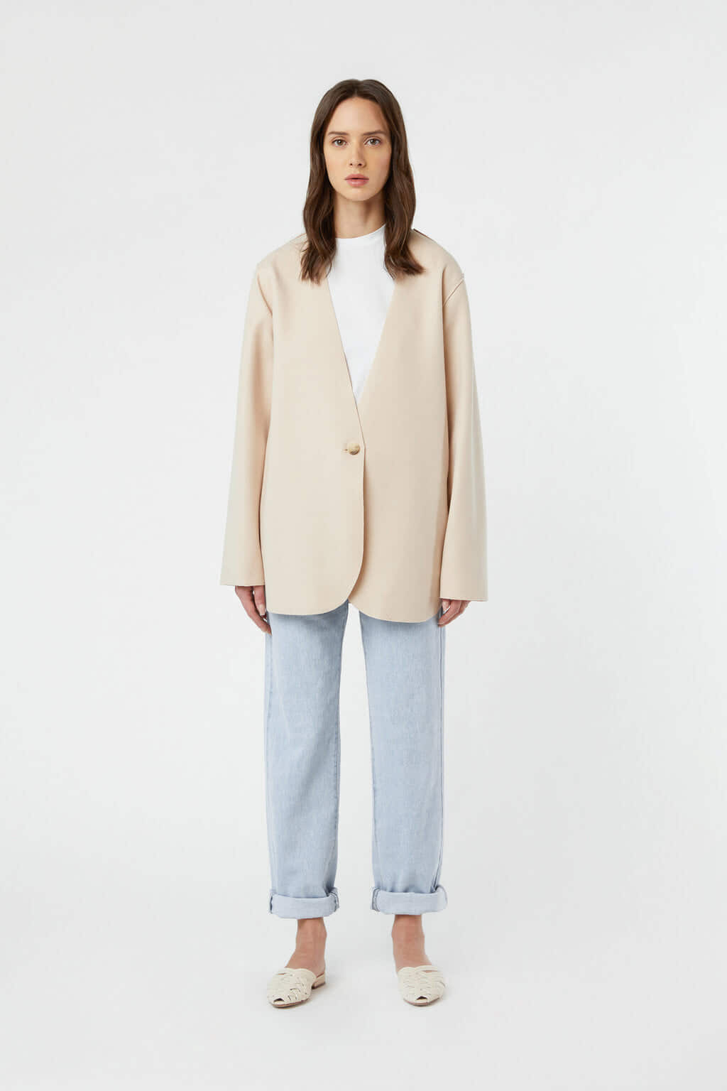 Jacket J009 Cream 3