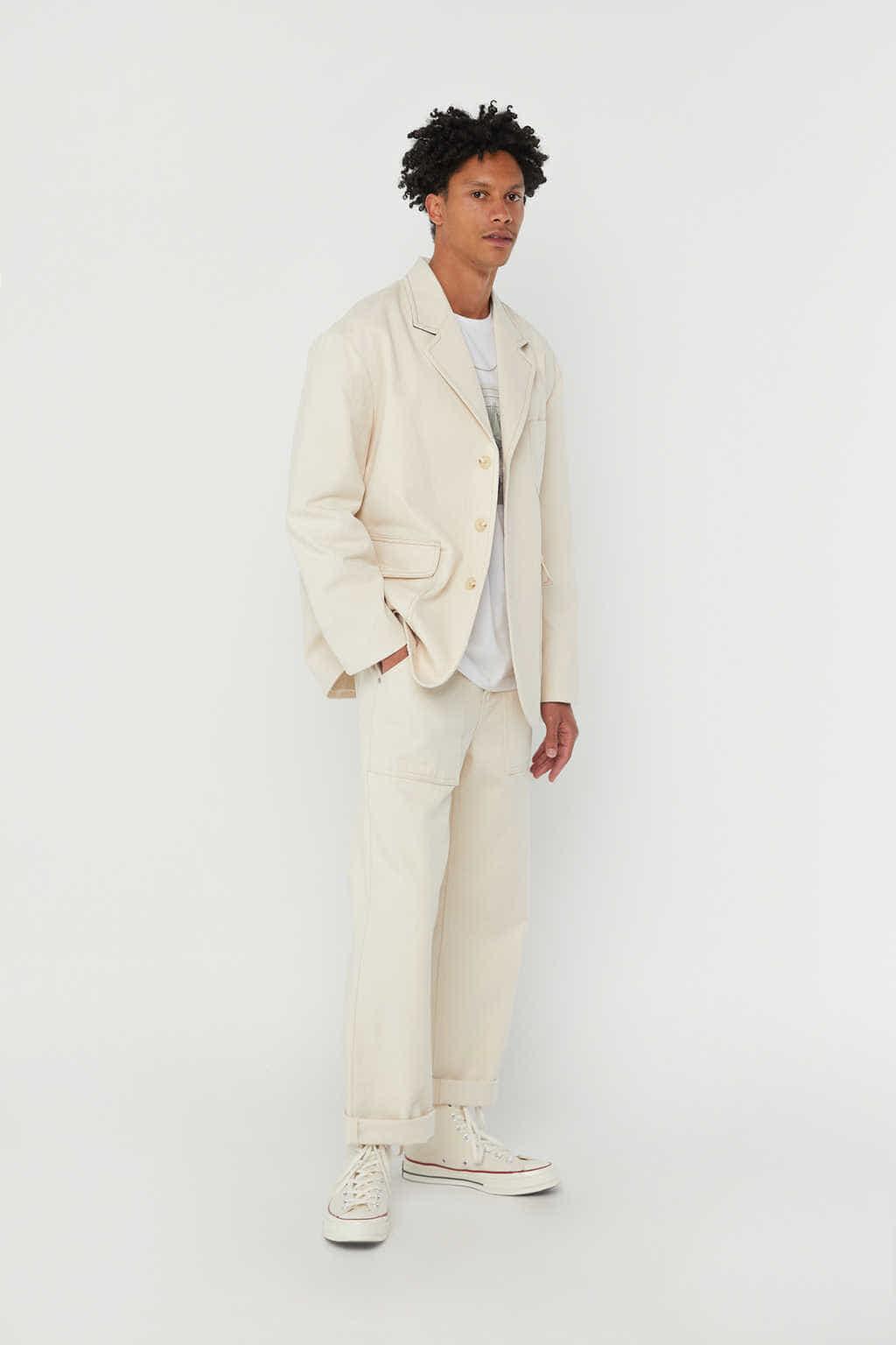 Jacket K002 Cream 1