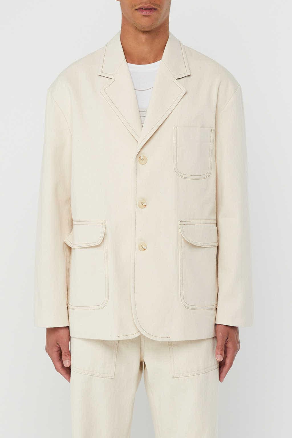 Jacket K002 Cream 3