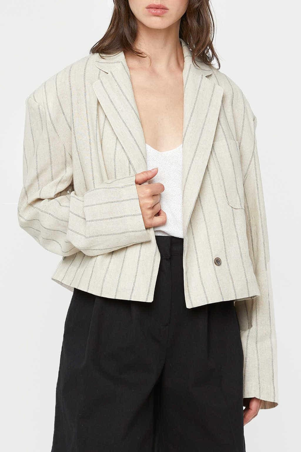 Jacket K006 Beige 3