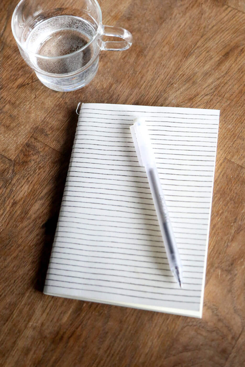 Lined Print Notebook 3306 White 1