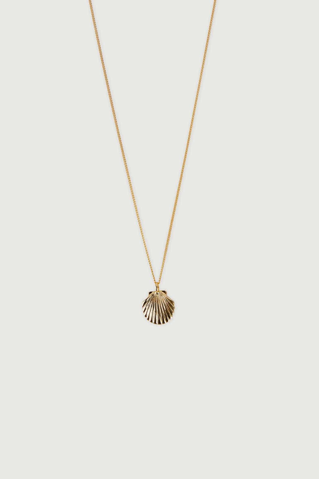 Necklace J008 Gold 1