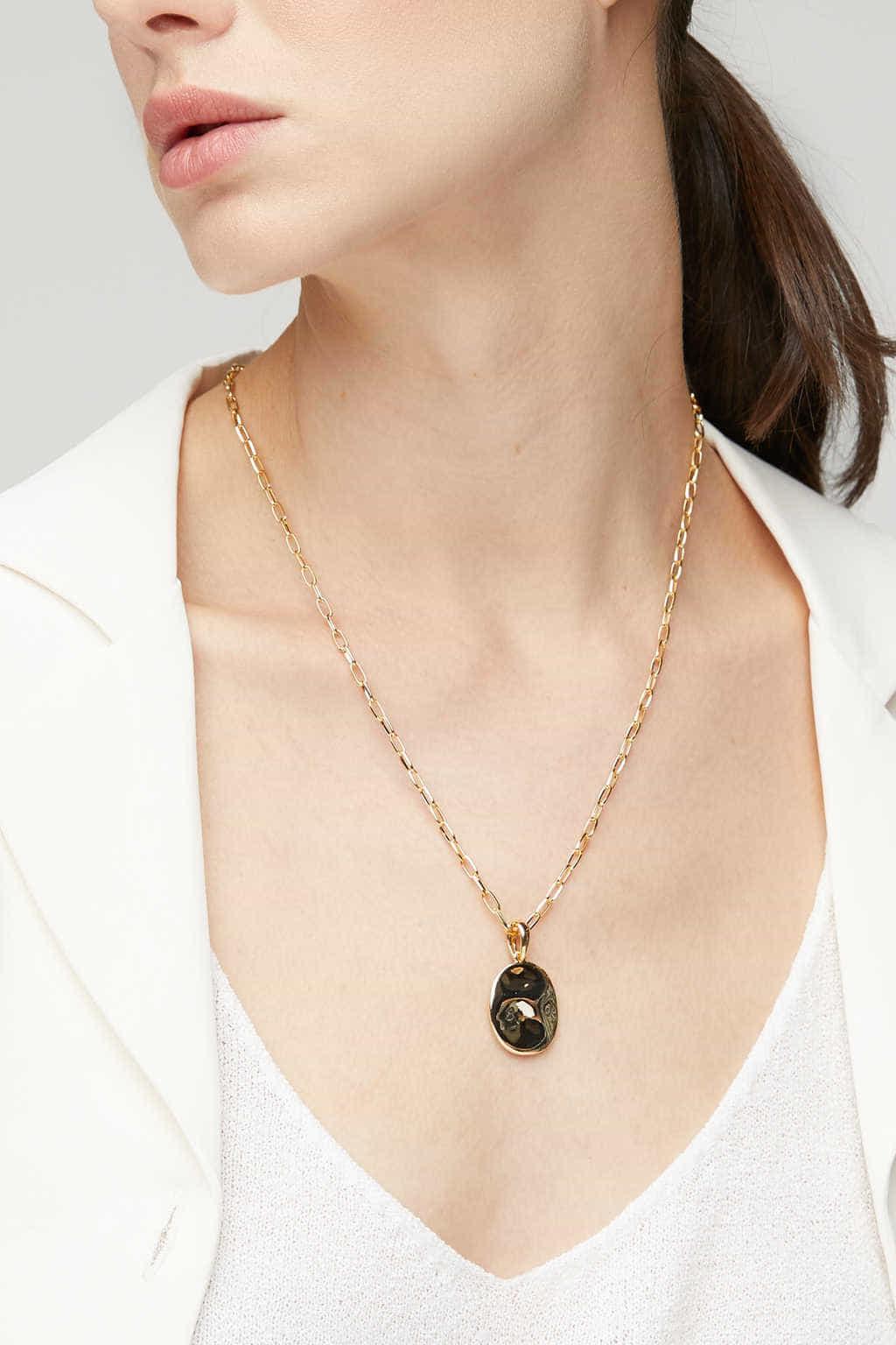 Necklace K004 Gold 1