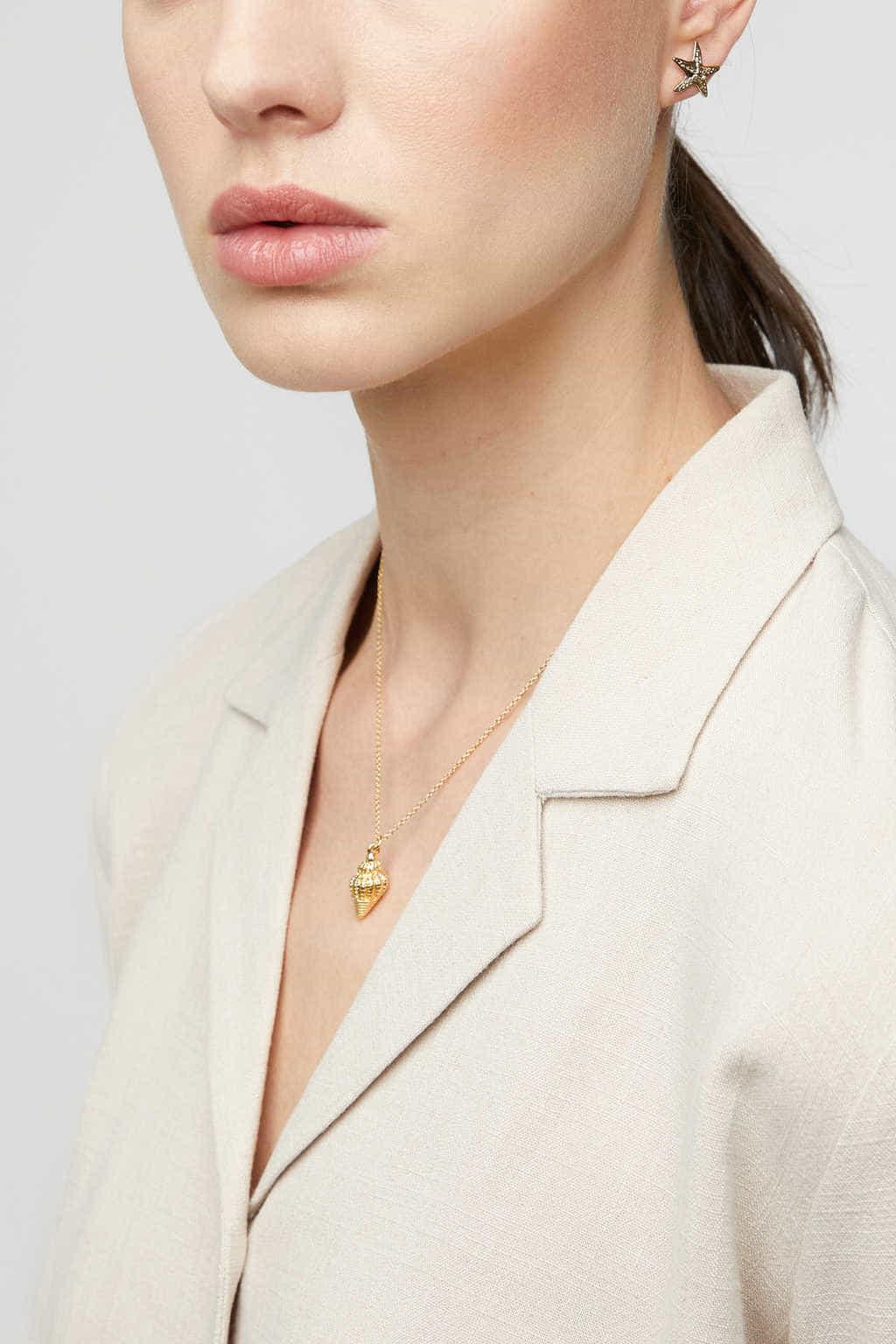 Necklace K007 Gold 1