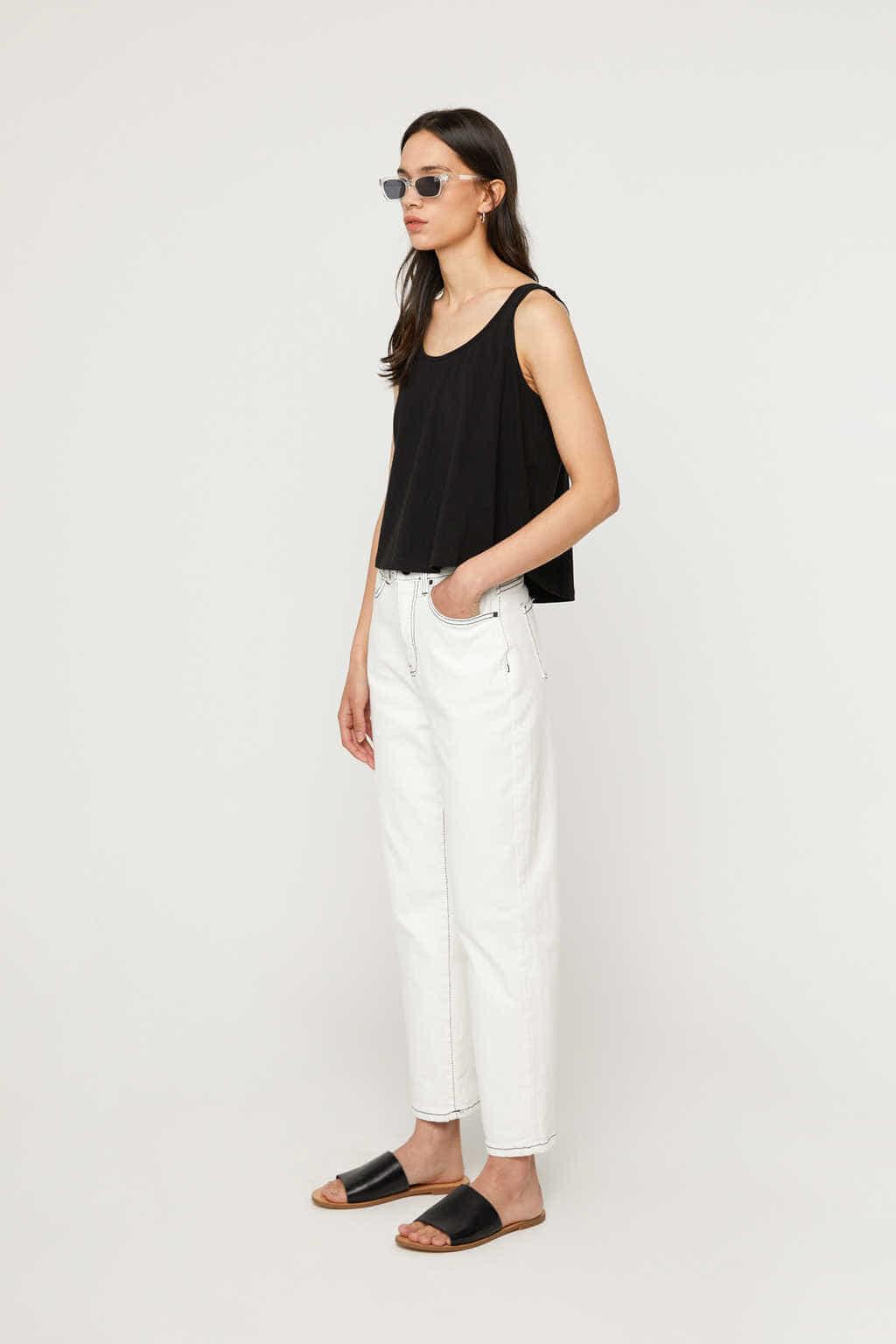 Pant K009 White 3