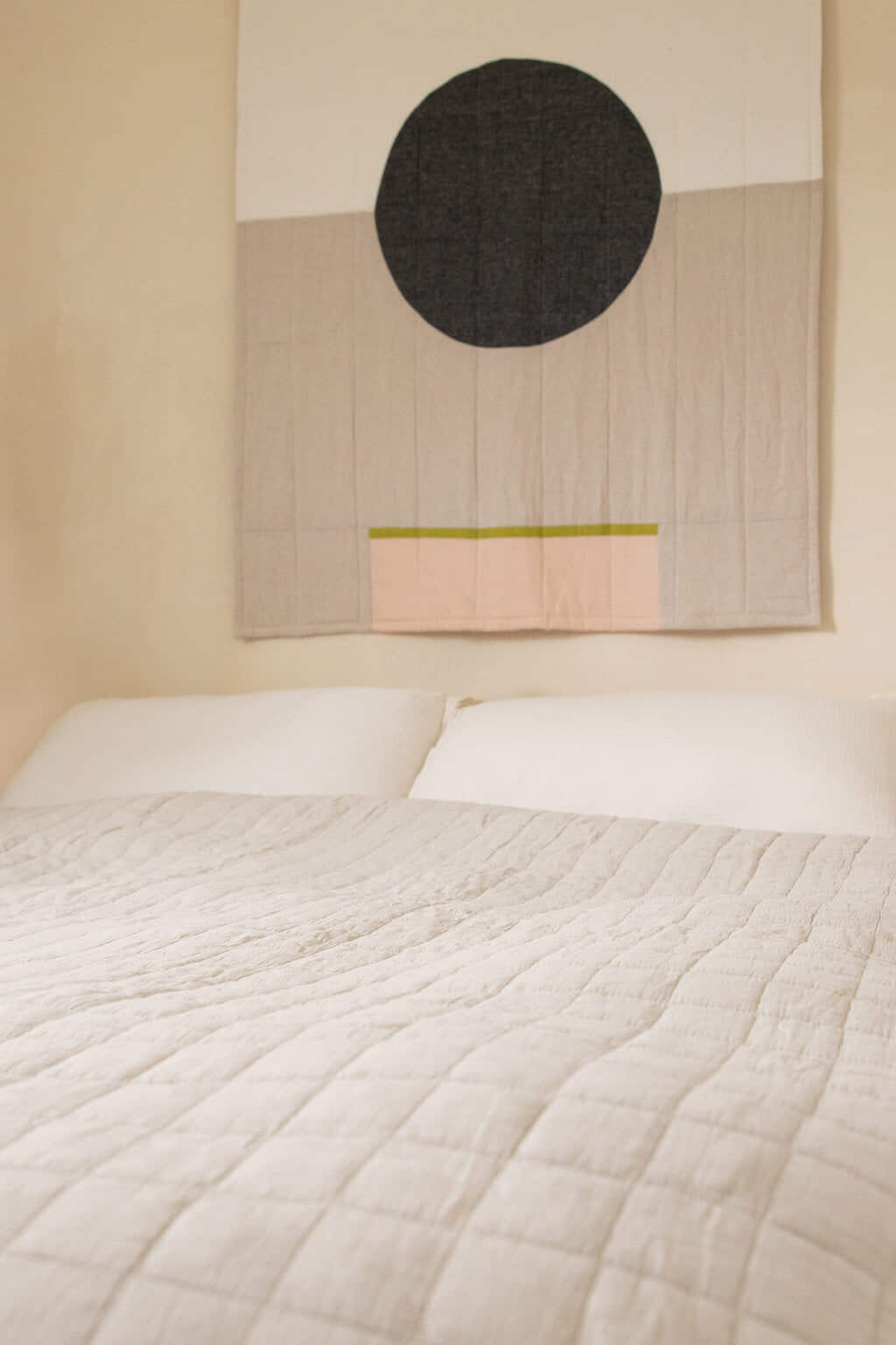 Quilted Blanket 3357 Cream 1