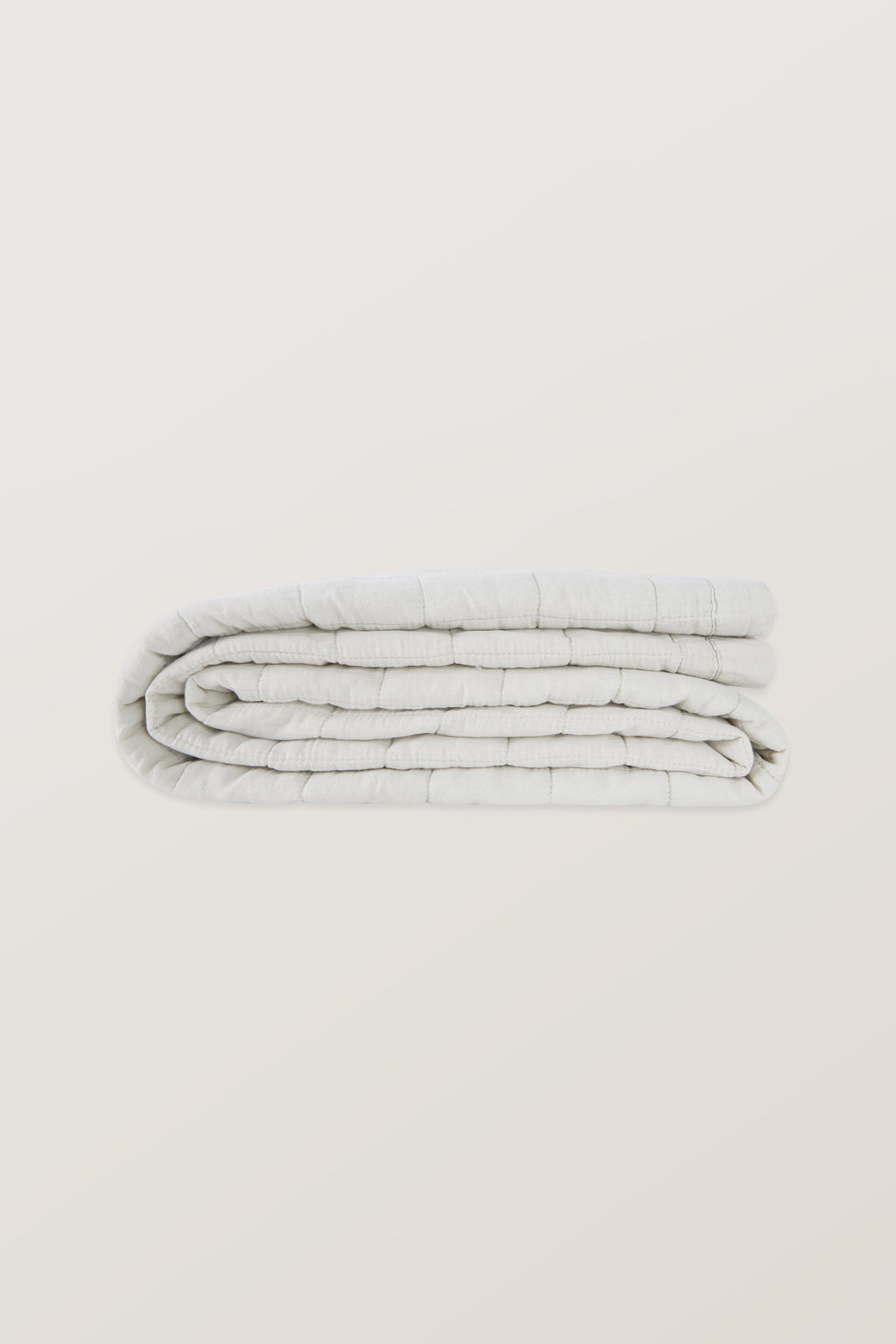 Quilted Blanket 3357 Cream 2