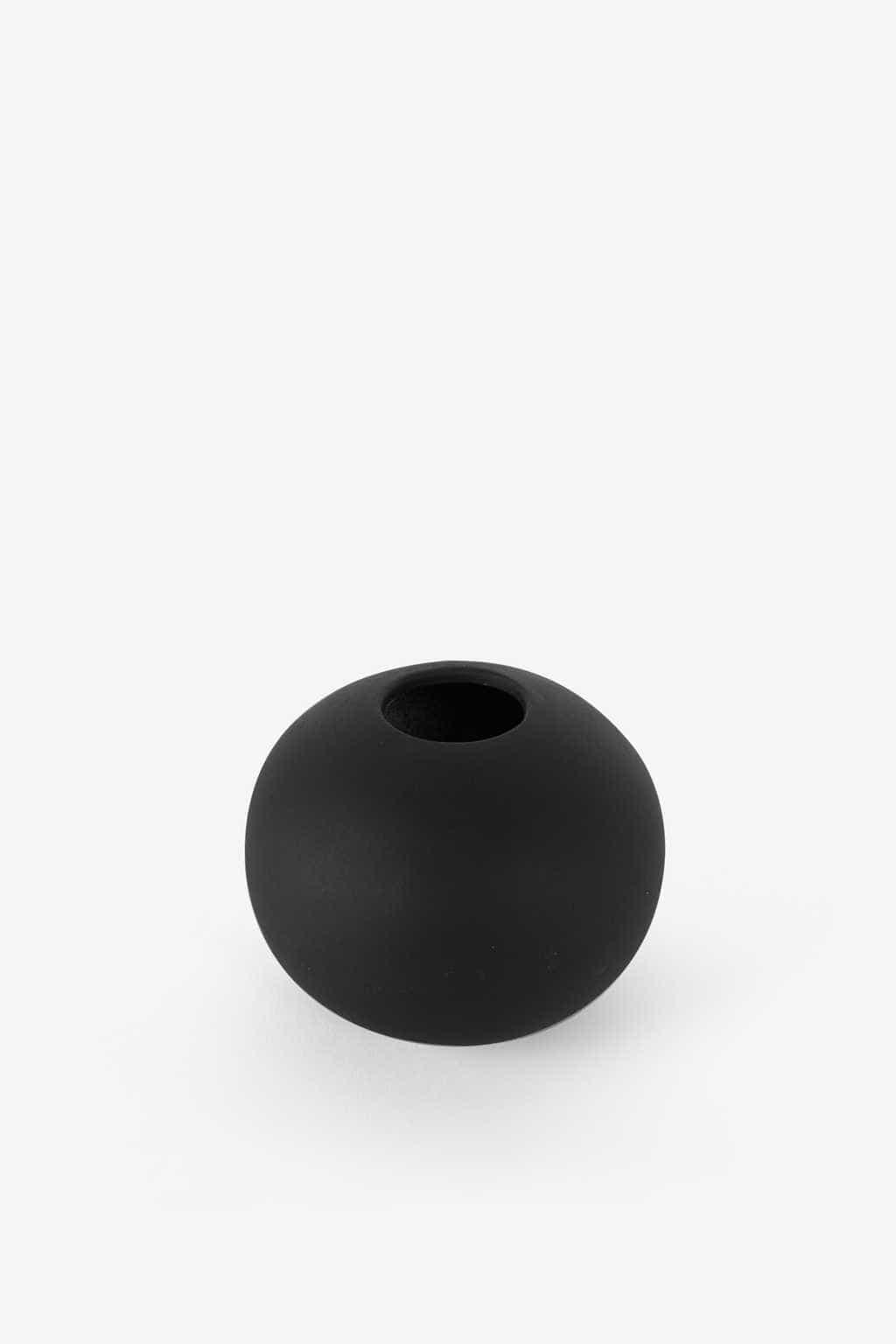 Rounded Vase 3132 Black 9