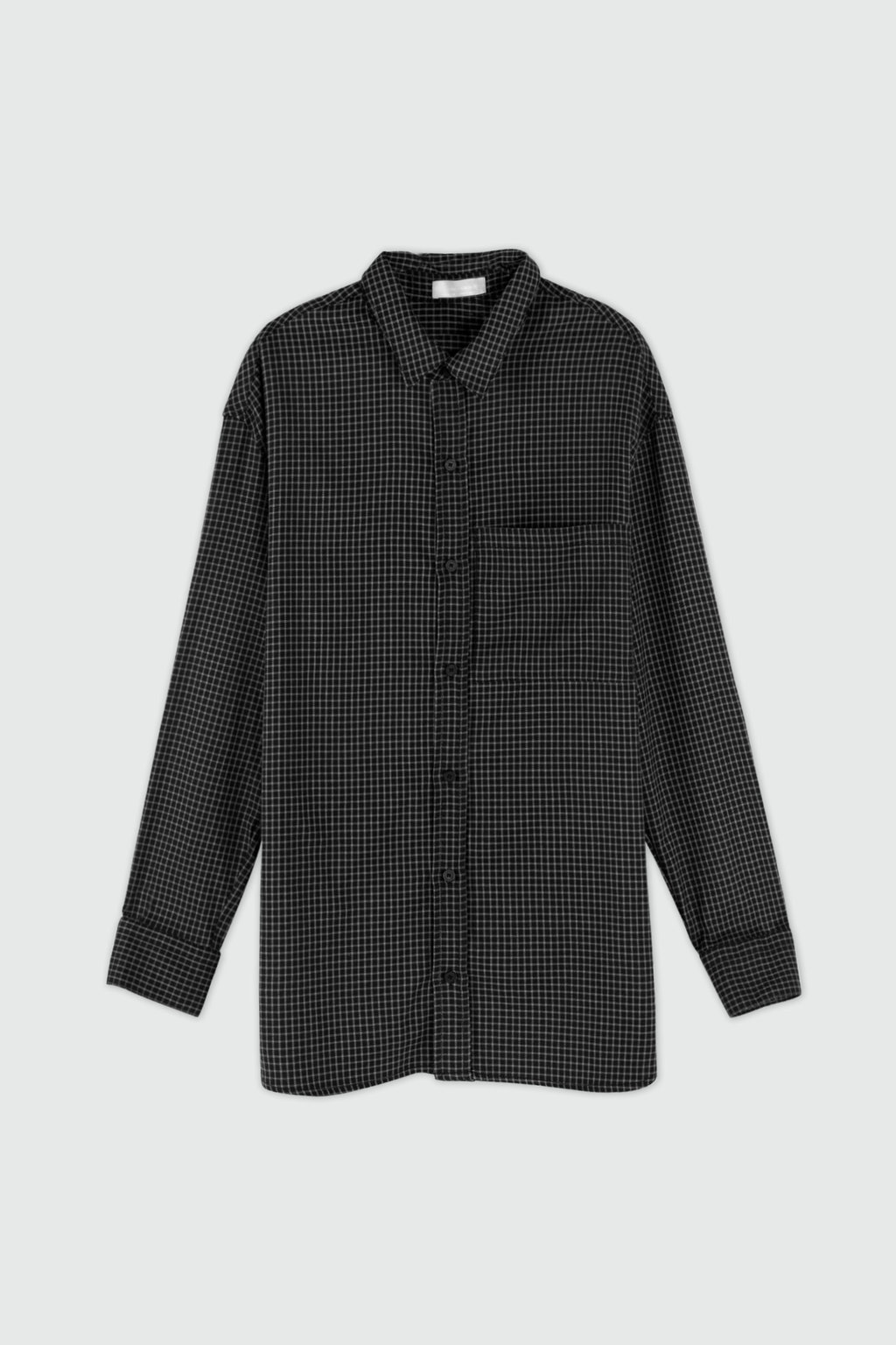 Shirt 3374 Black Check 11