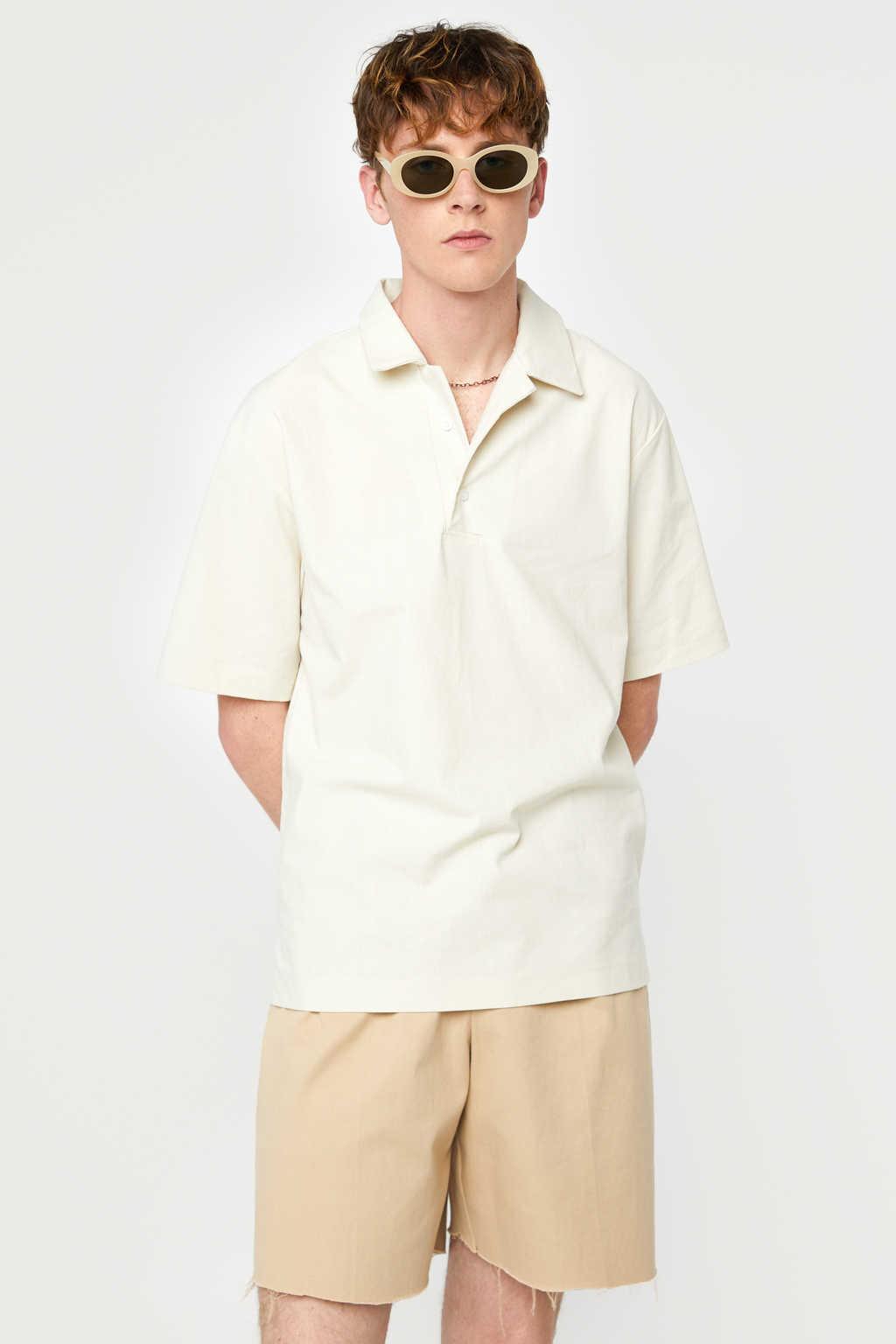 Shirt K003 Beige 1