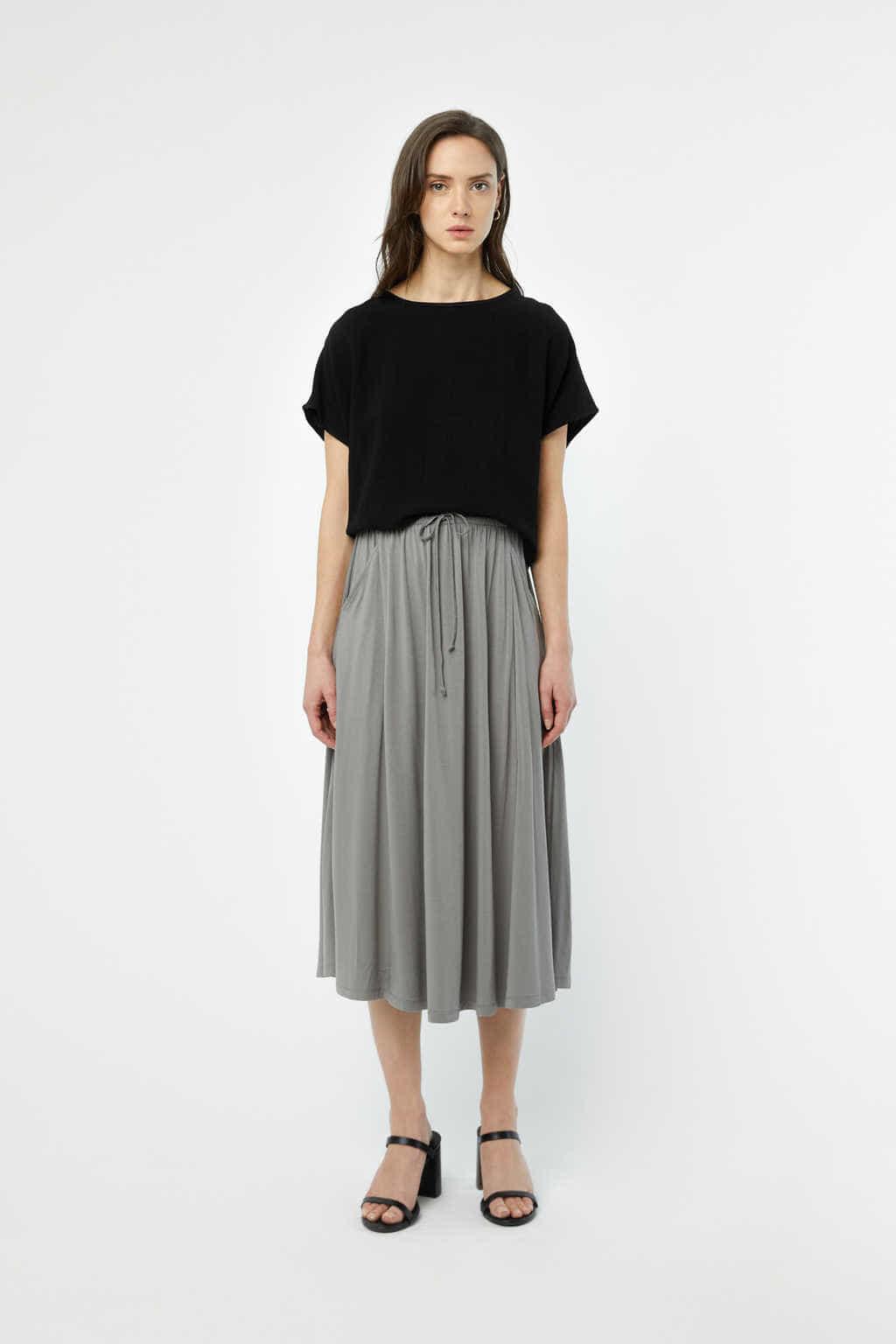 Skirt 3218 Gray 2