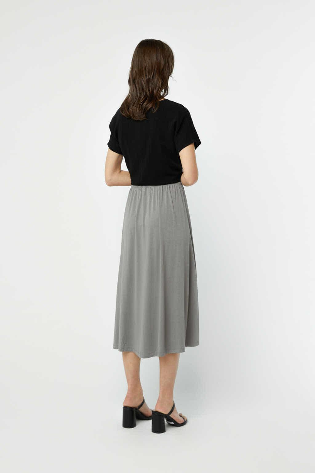 Skirt 3218 Gray 4