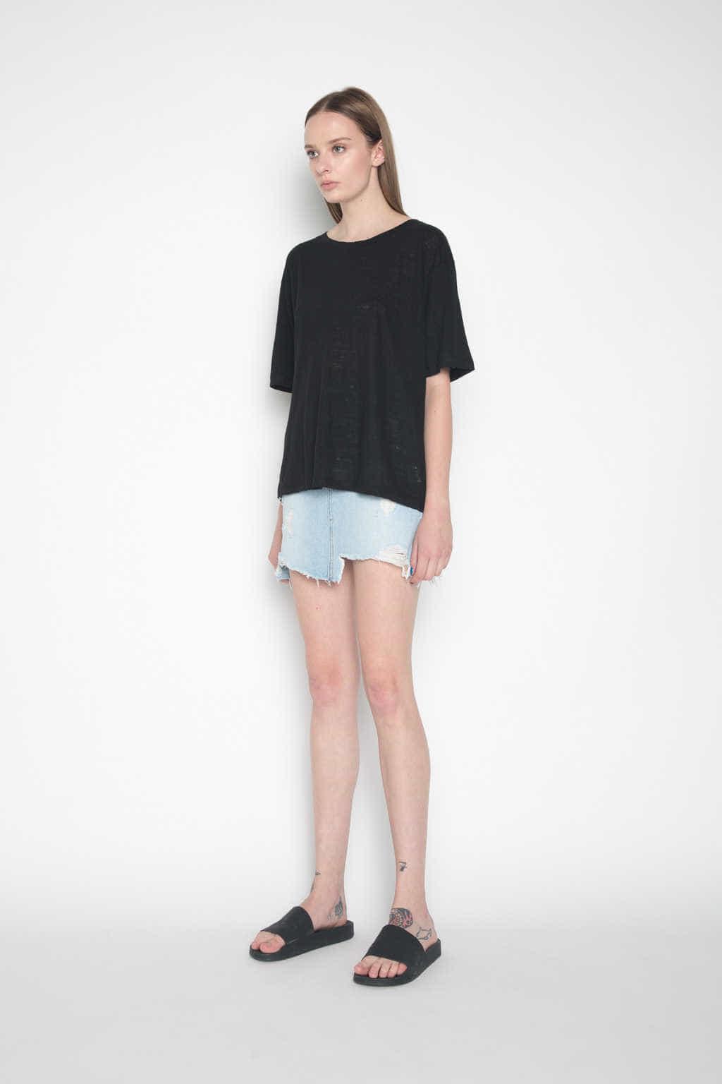 Skirt H056 Indigo 3