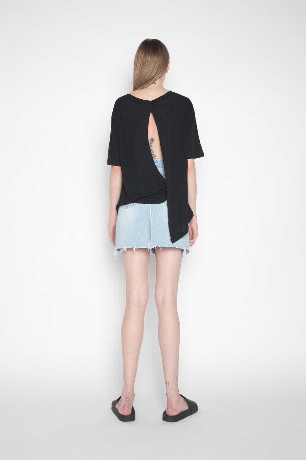 Skirt H056 Indigo 4