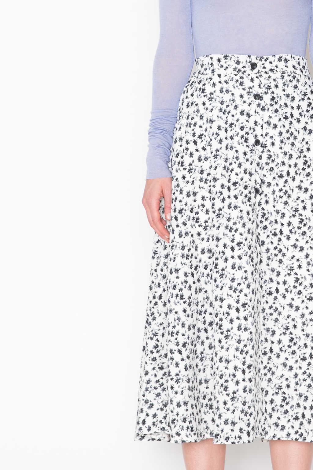 Skirt H214 Cream 2