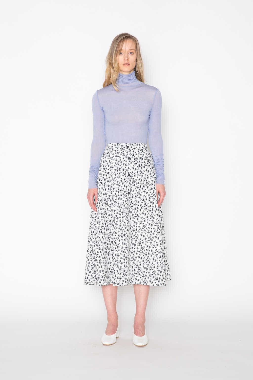 Skirt H214 Cream 3