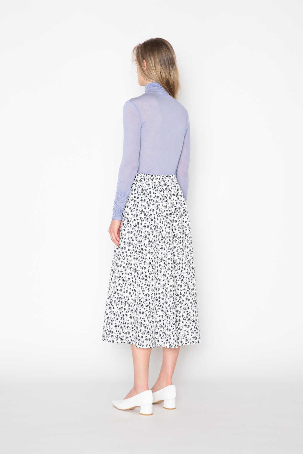 Skirt H214 Cream 4