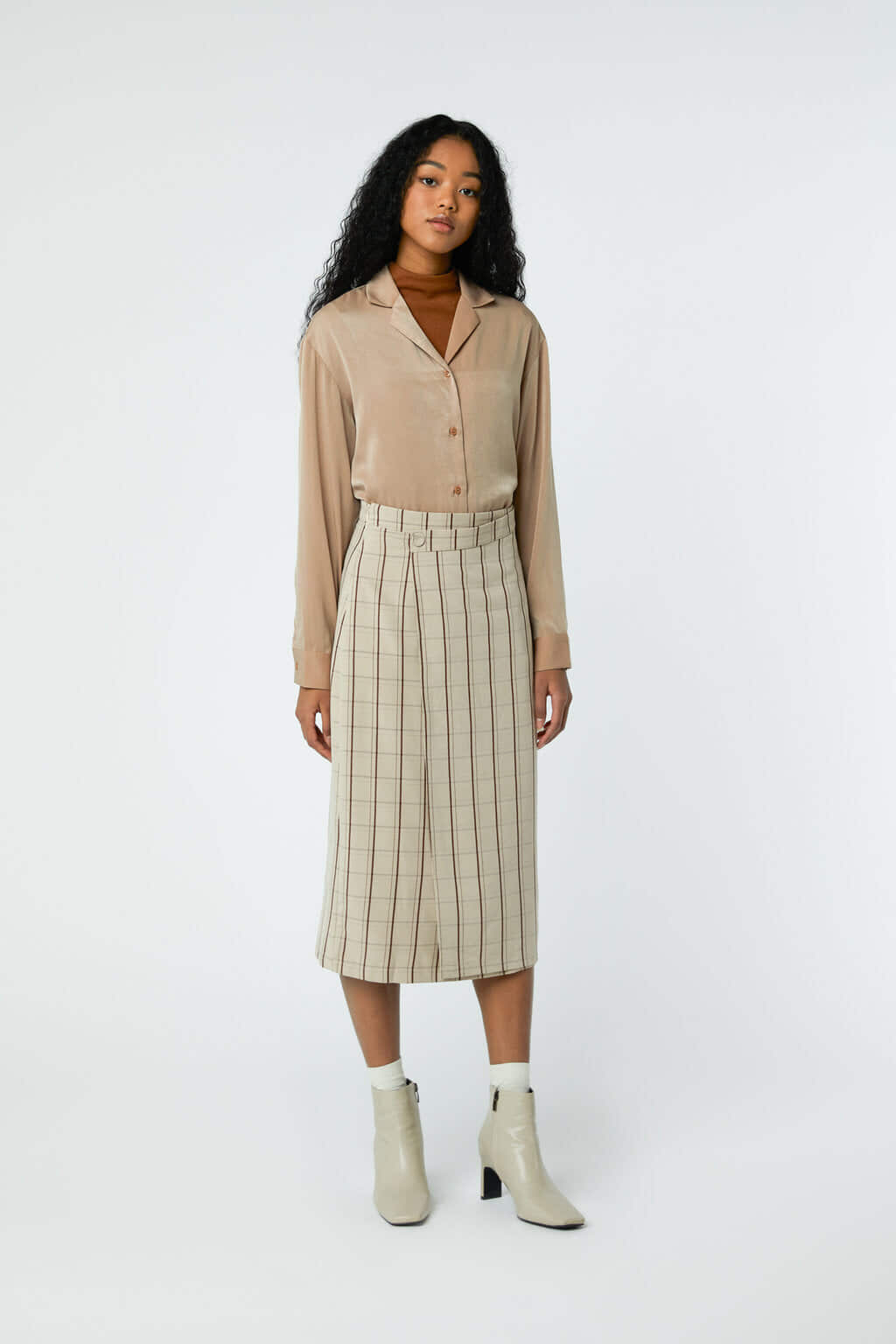 Skirt J001C Beige 1