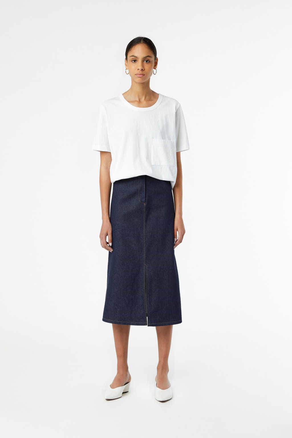 Skirt J010 Indigo 1