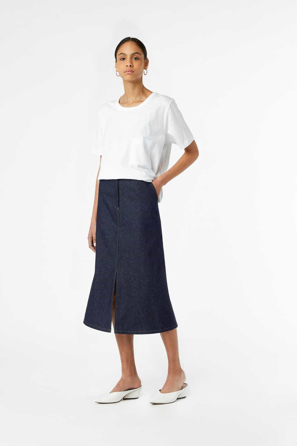 Skirt J010 Indigo 2