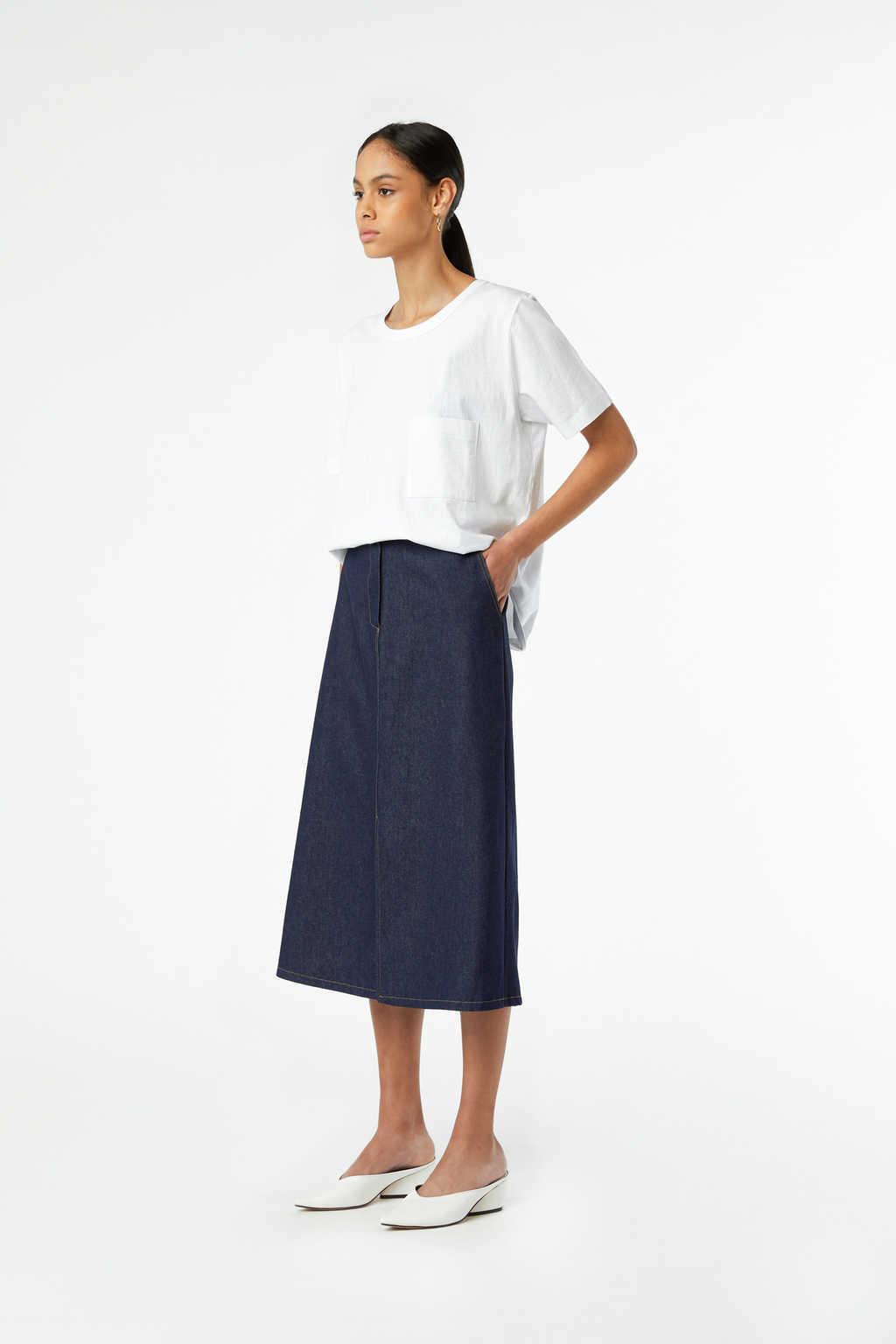 Skirt J010 Indigo 3