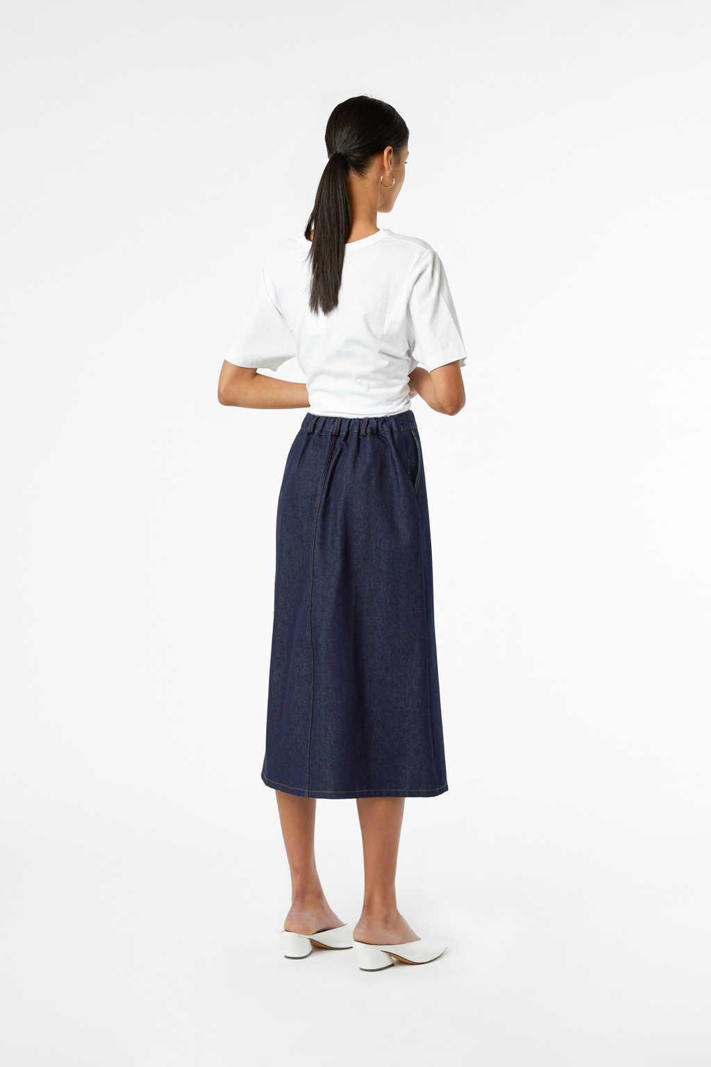 Skirt J010 Indigo 4
