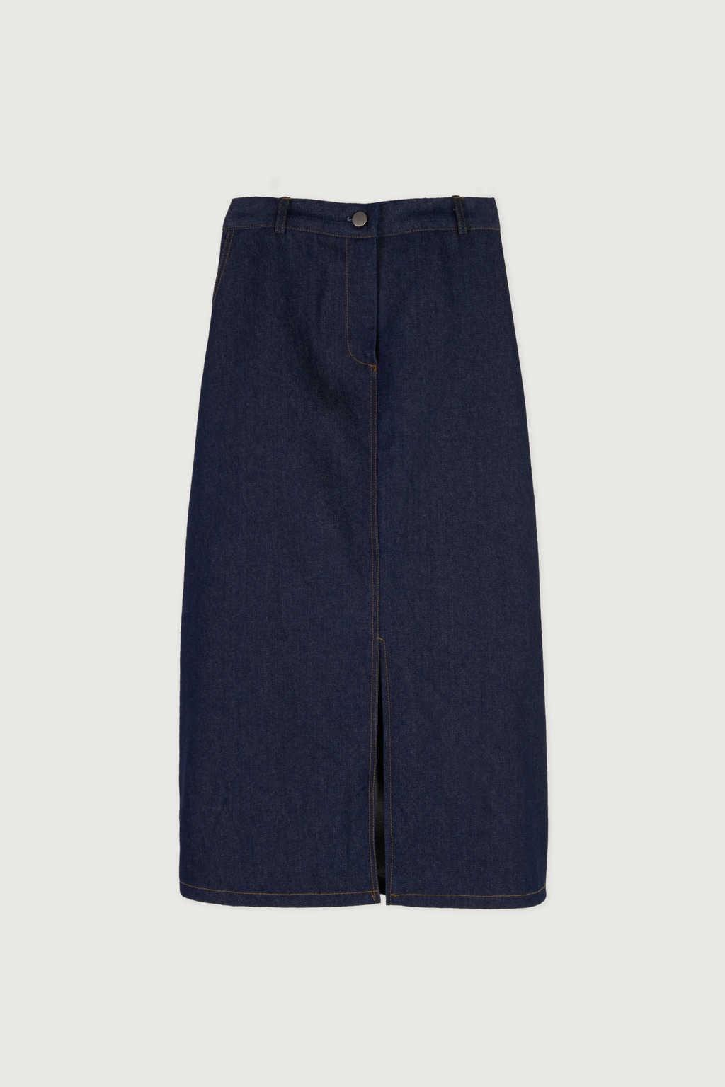 Skirt J010 Indigo 5