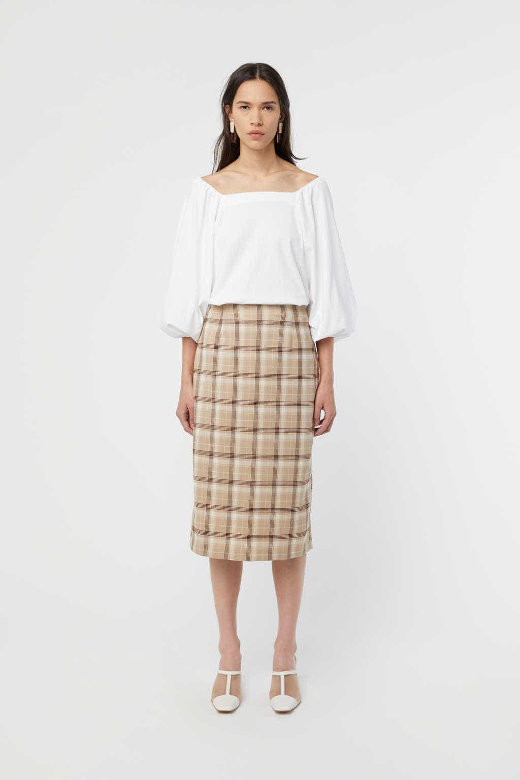 Skirt K002 Beige 3