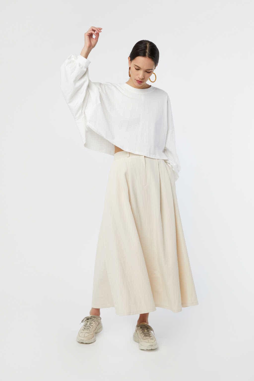 Skirt K006 Cream 1