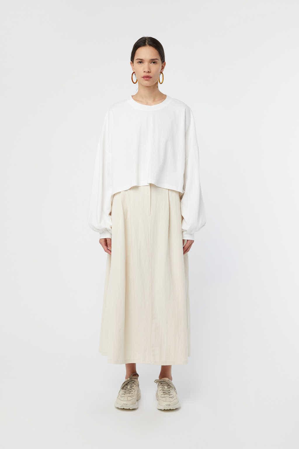 Skirt K006 Cream 2