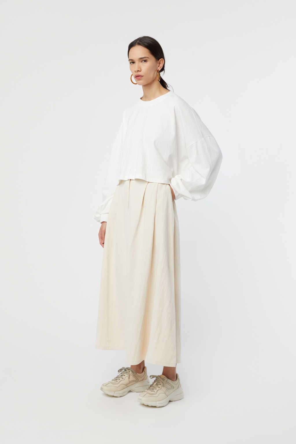 Skirt K006 Cream 3