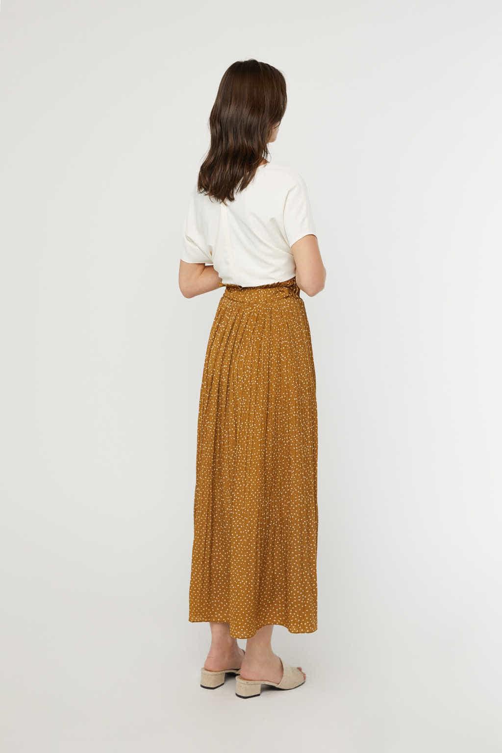 Skirt K009 Camel 4