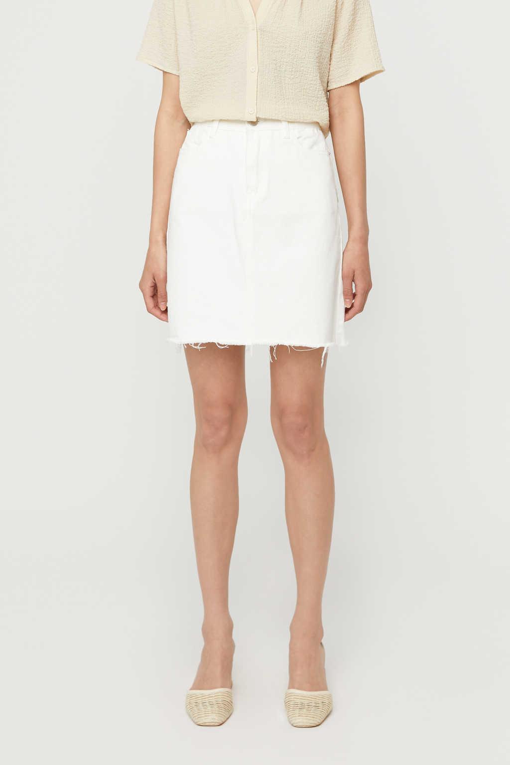 Skirt K011 White 3