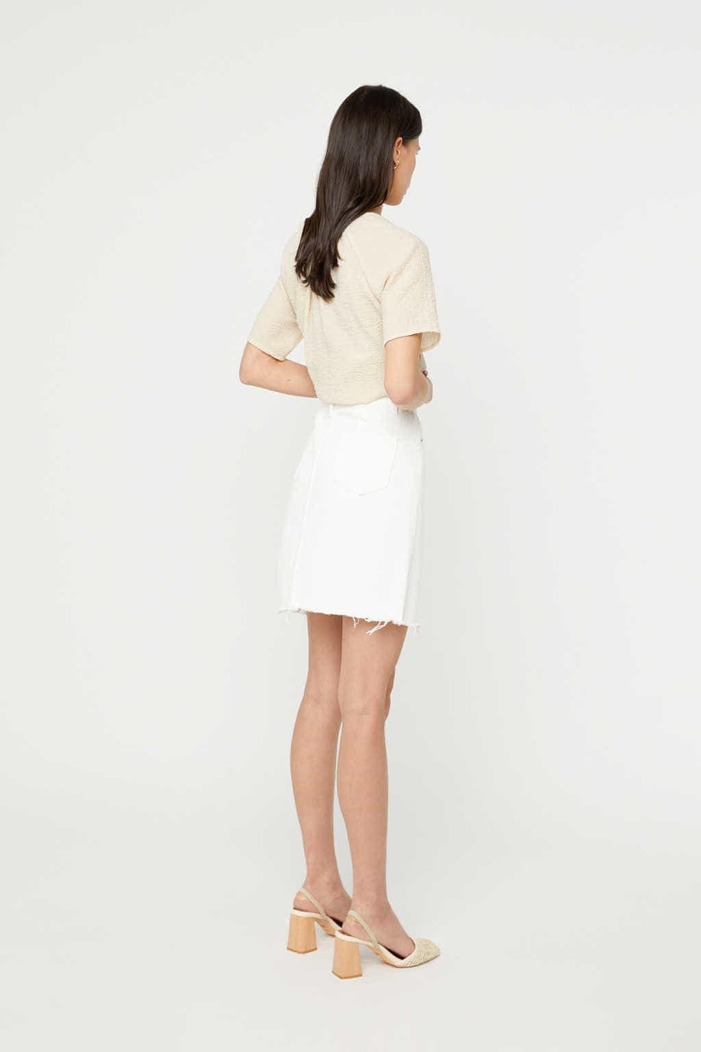 Skirt K011 White 4