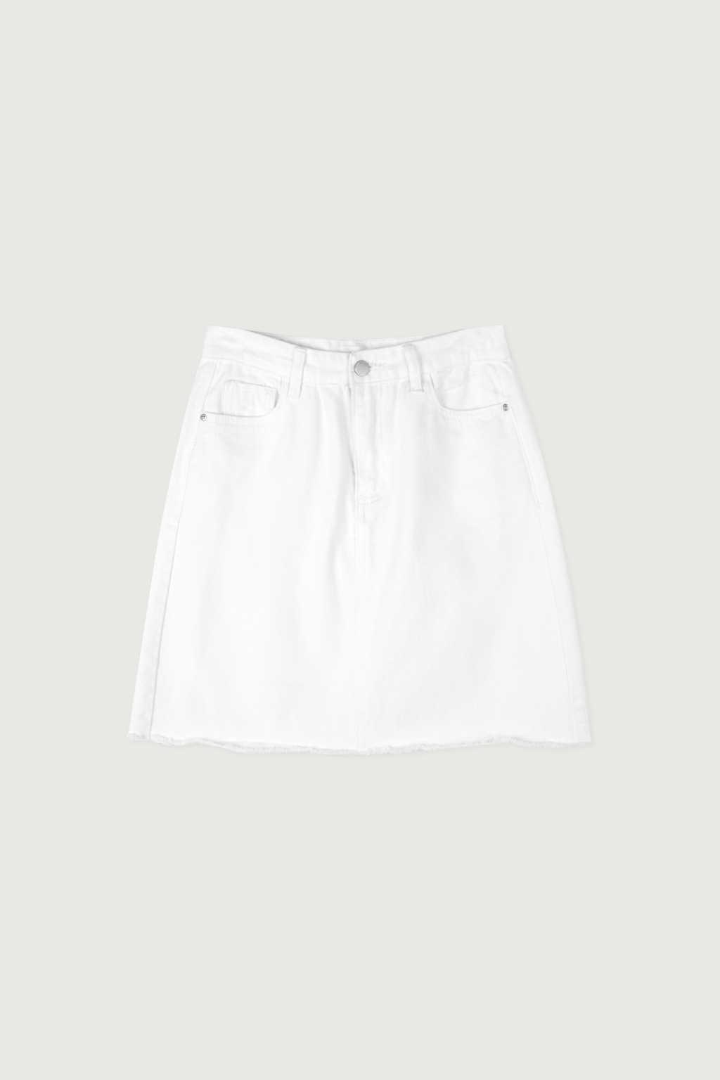 Skirt K011 White 5