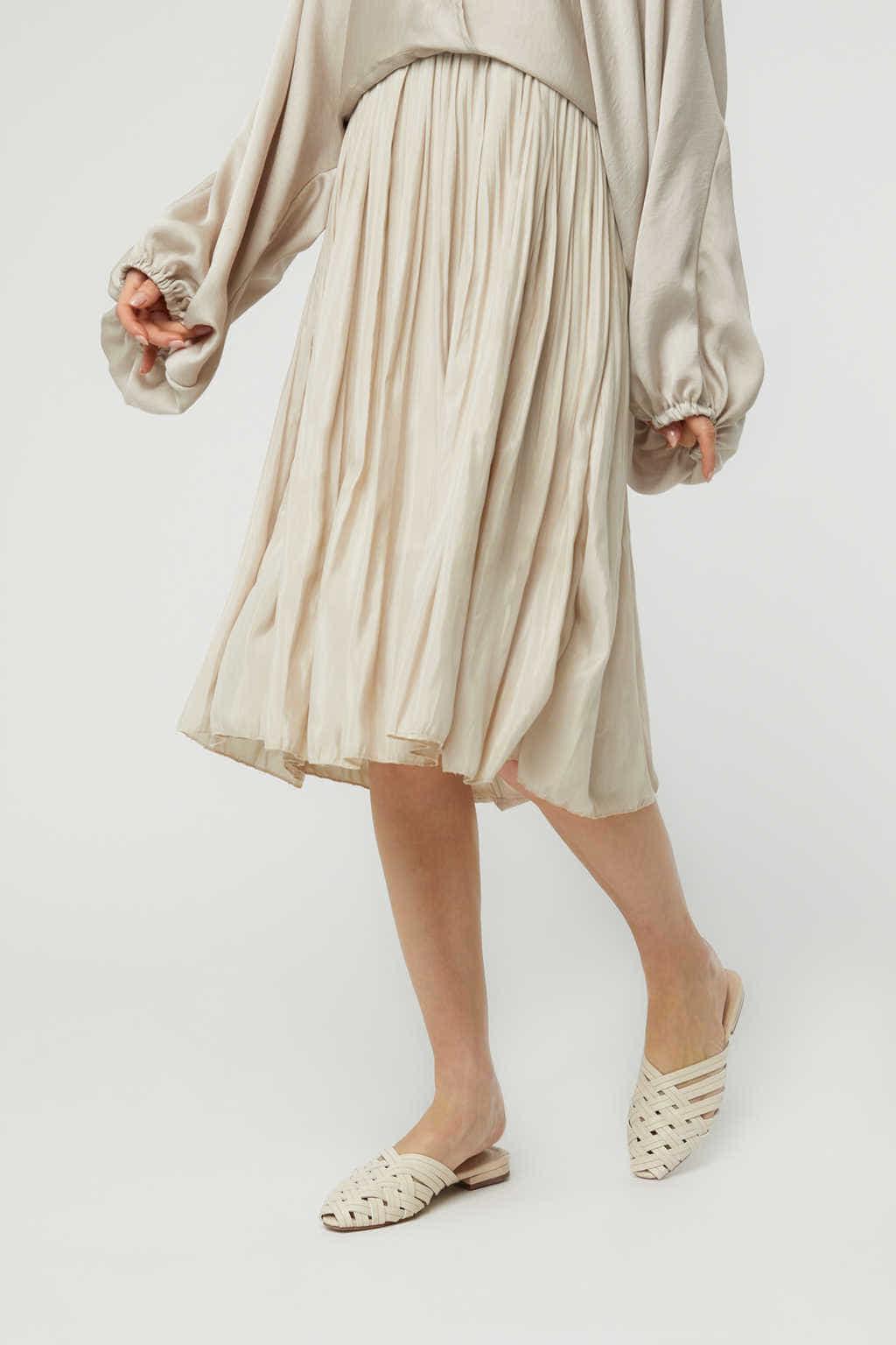Skirt K015 Beige 2