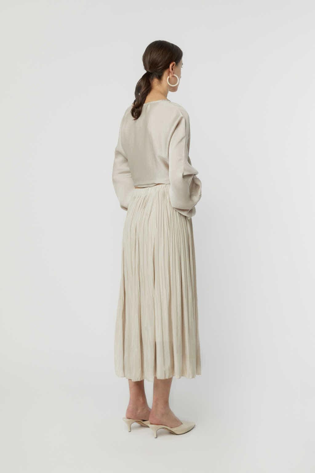 Skirt K015 Beige 4