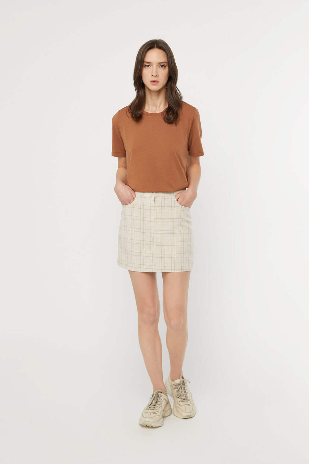 Skirt K017 Beige 1