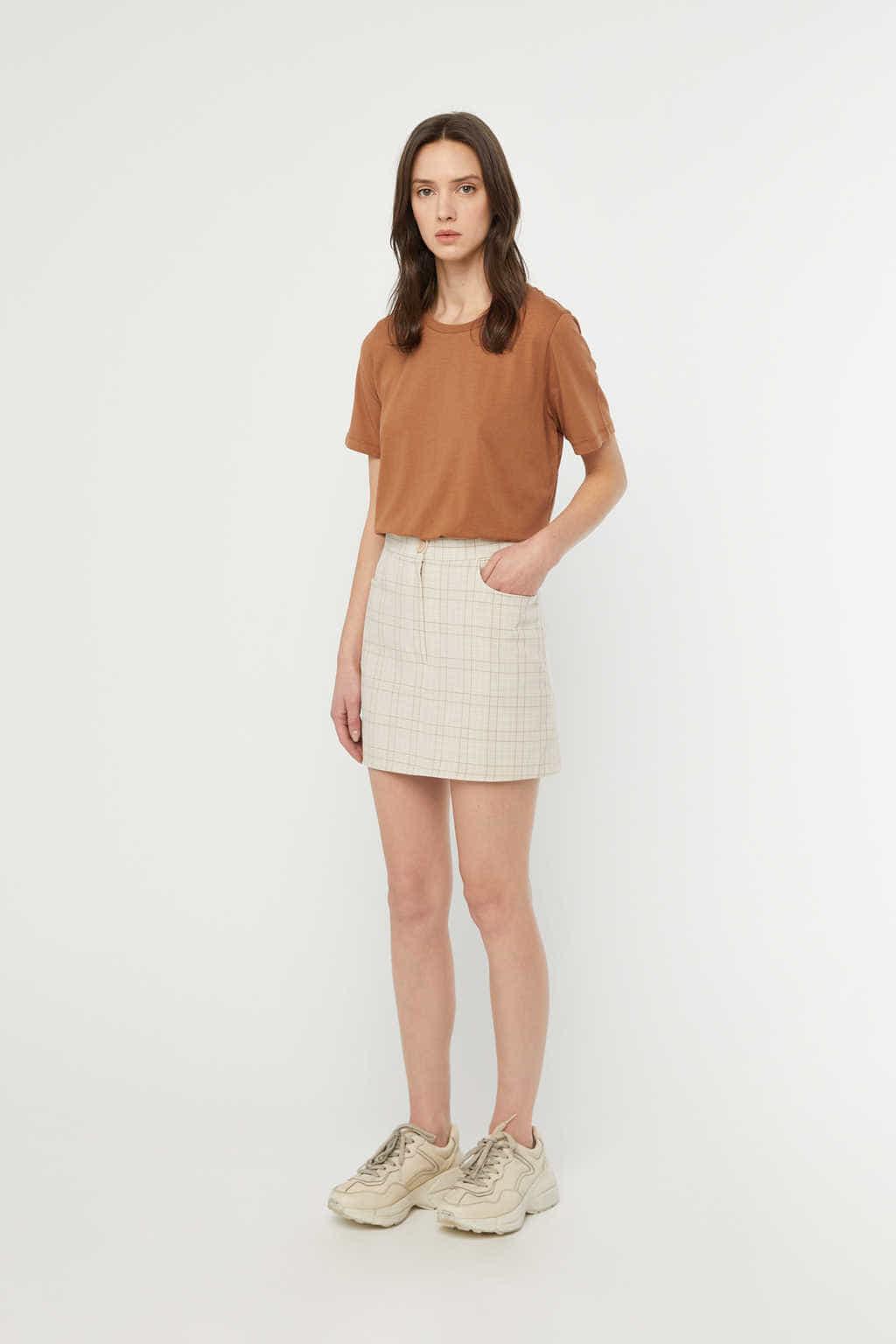 Skirt K017 Beige 2