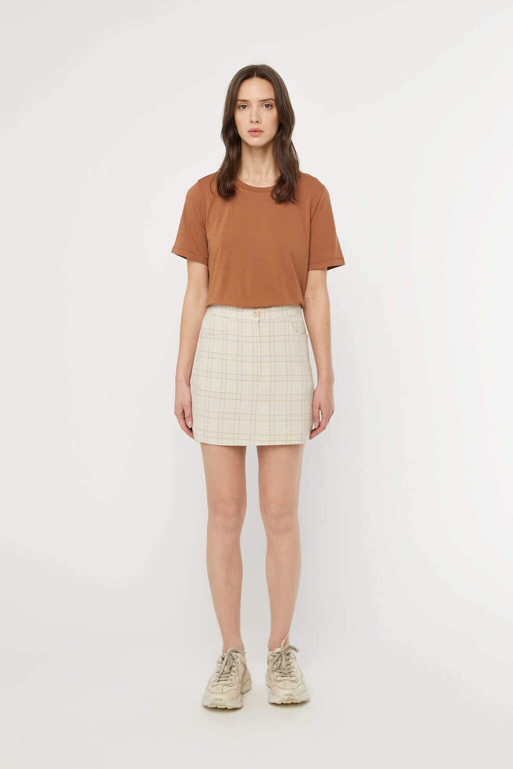 Skirt K017 Beige 3