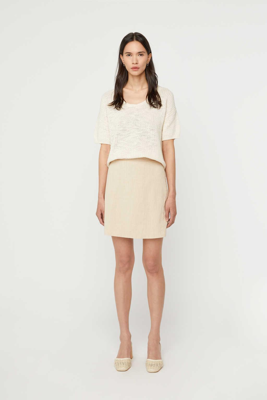 Skirt K020 Beige 2
