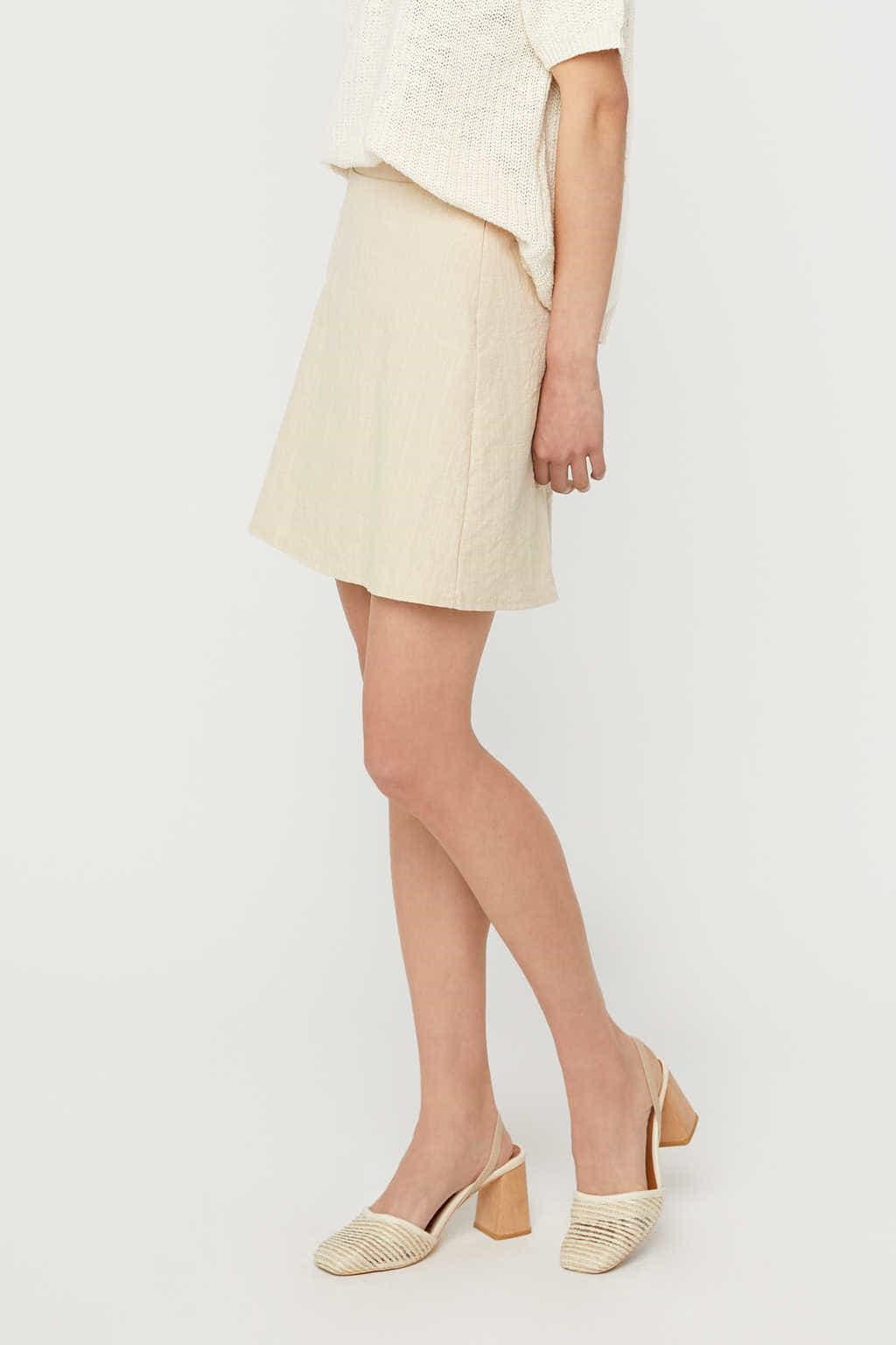 Skirt K020 Beige 3