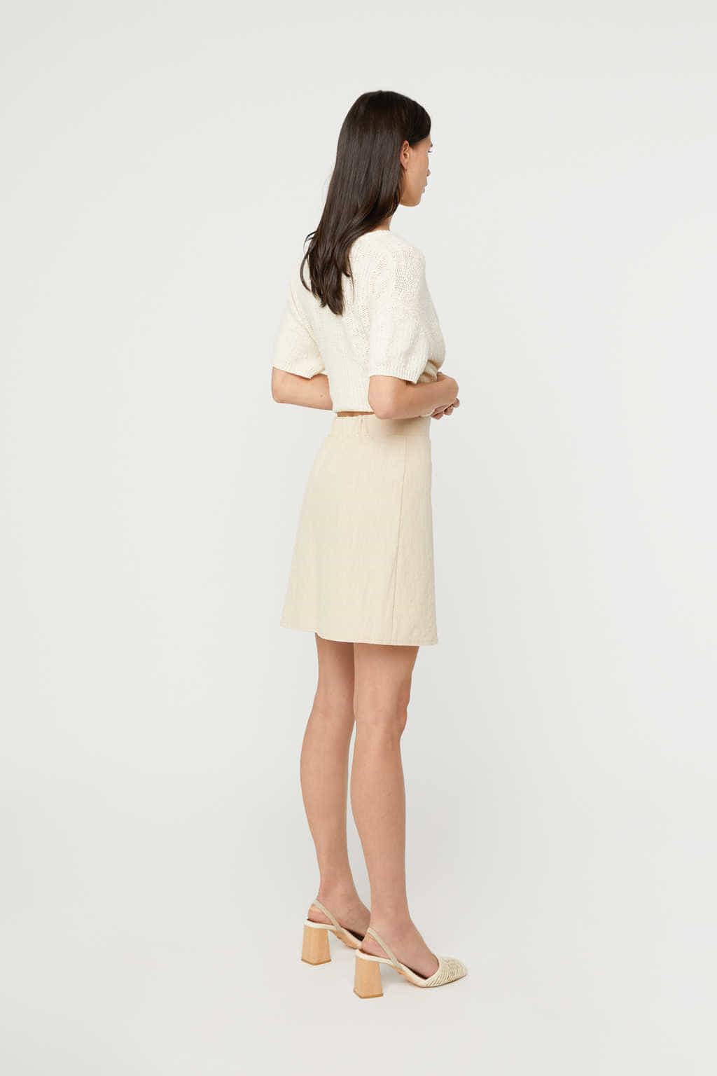 Skirt K020 Beige 4