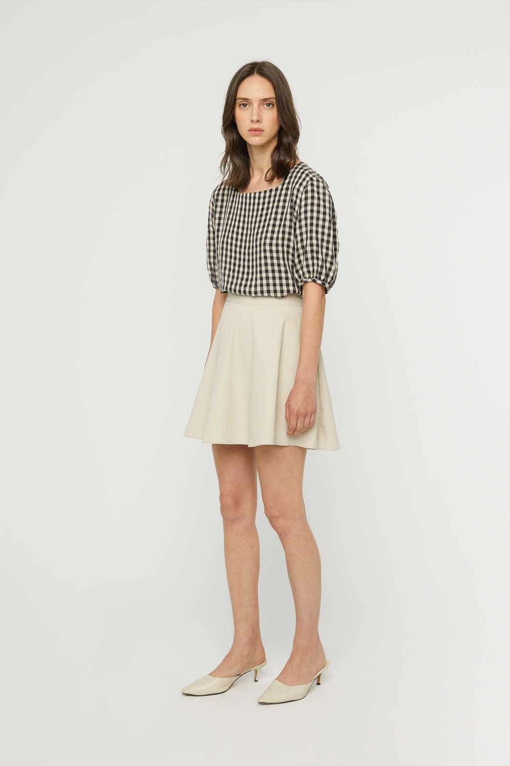 Skirt K021 Beige 2