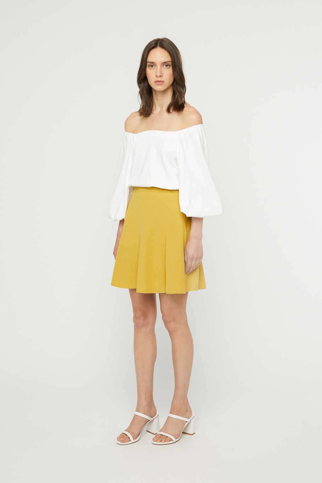 Skirt K022 Mustard 2