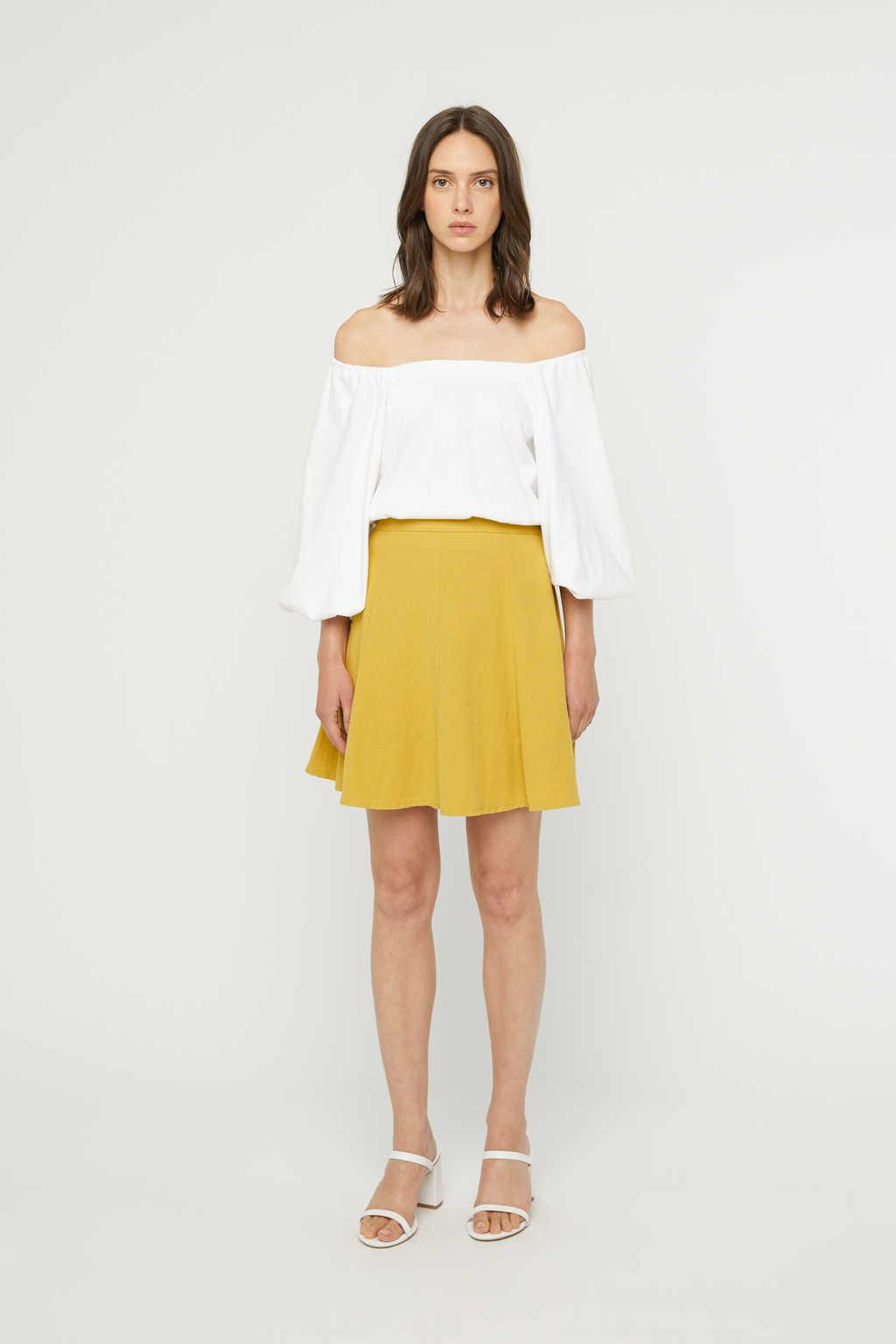 Skirt K022 Mustard 3