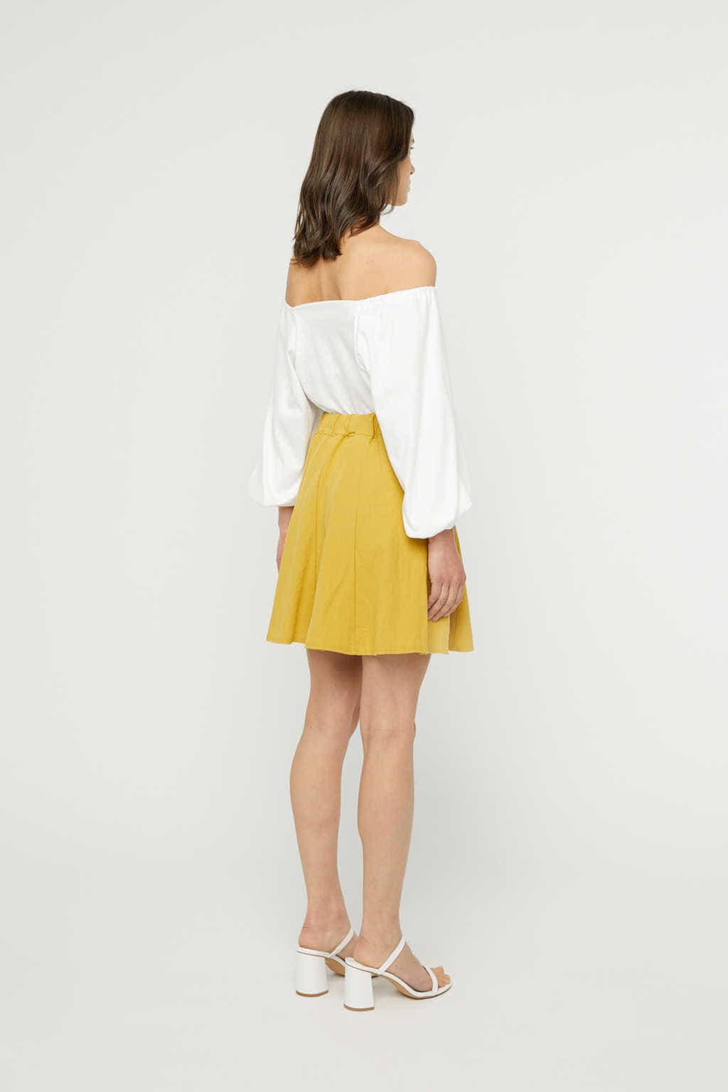 Skirt K022 Mustard 4